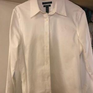 Ralph Lauren long sleeve white shirt.